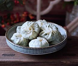 #秋天怎么吃#小白菜虾皮蒸包的做法