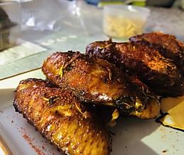 香辣烤翅的做法