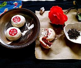 云南玫瑰鲜花饼---以花入饌的做法