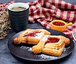 草莓酱奶酪酥的做法