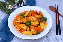 #百变水果花样吃#菠萝鸡片的做法
