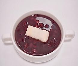 烤年糕红豆汤的做法