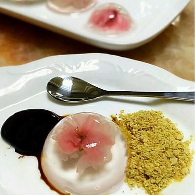 樱花水信月饼