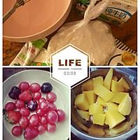 糯米糍#水果糯米糍的做法图解1