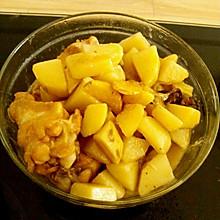 土豆炖鸡腿【懒人版】