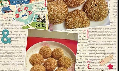 芝麻糯米糍的做法