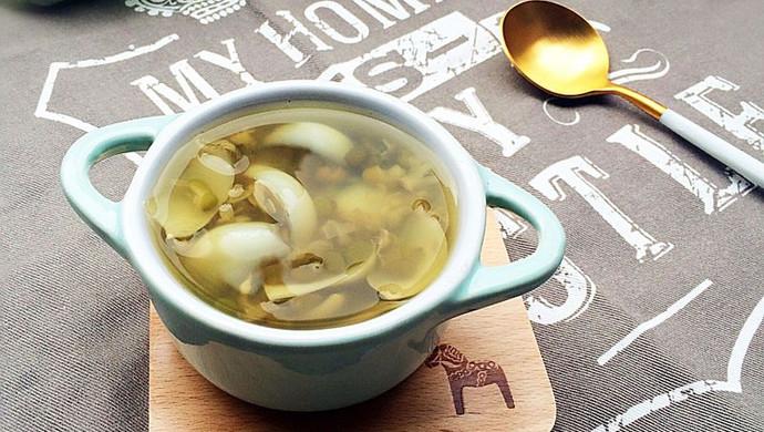 绿豆百合汤~~夏天消暑良品