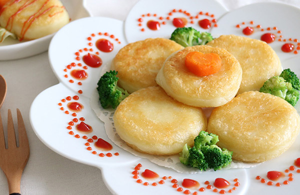 流心芝士土豆饼,宝宝的全能营养早餐