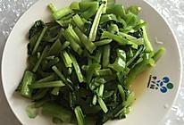 青椒炒菜心的做法