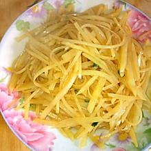 蚝油土豆丝