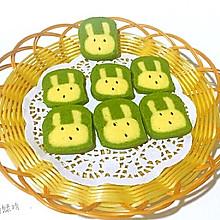 抹茶萌兔曲奇饼干