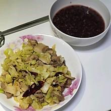 大头菜炒肉片