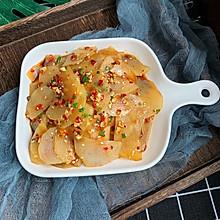 #做道懒人菜,轻松享假期#凉拌土豆片