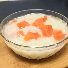 胡萝卜大米粥