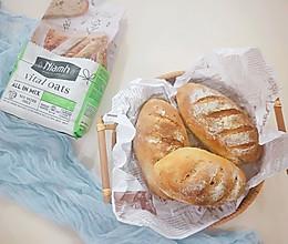 无糖无油全麦面包