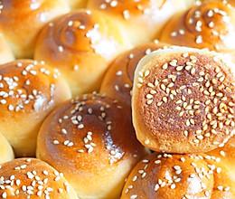 蜂蜜脆底小面包 波兰种 一次发酵#换着花样吃早餐#的做法
