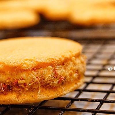 不用去大排长龙,这样也很好吃的柔软肉松夹心小蛋糕(肉松小贝)