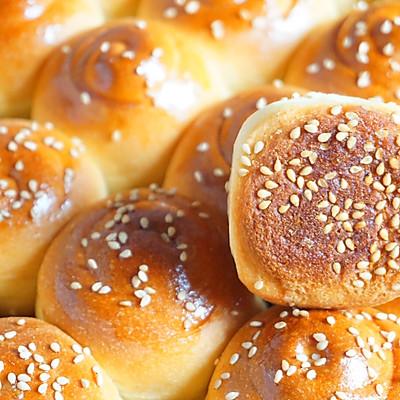 蜂蜜脆底小面包 波兰种 一次发酵