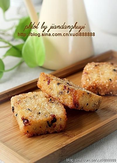 培根海苔粢饭糕的做法