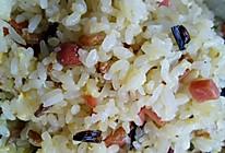 海米火腿蛋炒饭的做法