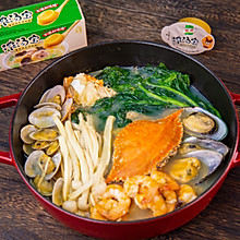 黄金海鲜汤