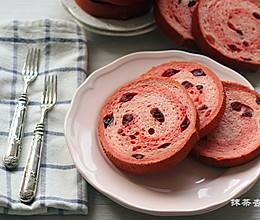 粉粉蔓越莓吐司#自己做更健康#的做法