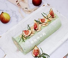 草莓酱奶油霜蛋糕卷的做法