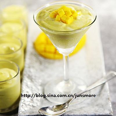芒果奶油杯
