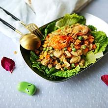 减脂鸡丁杂蔬炒藜麦