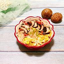 蕃茄菌菇鸡蛋面