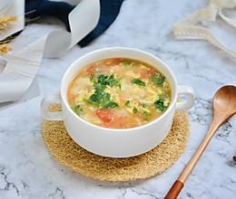 快手疙瘩汤的做法