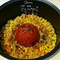 超超级简单版整个番茄饭 电饭煲版本的做法图解8