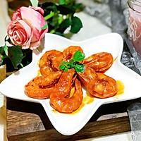 #精品菜谱挑战赛#茄汁大虾的做法图解9