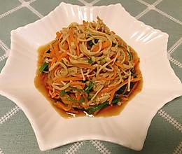 凉拌金针菇(凉拌菜1)的做法