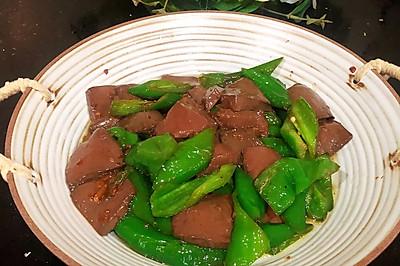 血豆腐炒尖椒