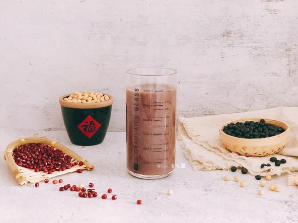 红枣五谷豆浆的做法