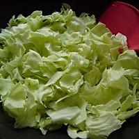 炝炒圆白菜 的做法图解5