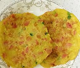 火腿鸡蛋土豆饼的做法