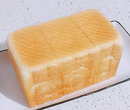 【松软拉丝】淡奶油吐司~奶香浓郁超绵软❗的做法
