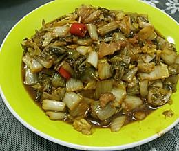五花肉小米椒炒酸菜的做法