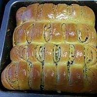 豆沙面包的做法图解1