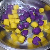 超级弹牙爽口的台湾美食—椰汁三色芋圆的做法图解12
