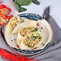 #新春美味菜肴#新年卷饼不漏财:鸡蛋粉丝卷春饼的做法图解25