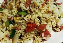 杂蔬炒饭的做法