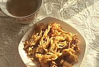 炸金针菇的做法