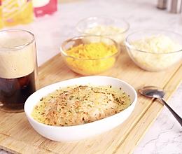 芝士海鲜焗饭的做法