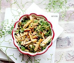 #爽口凉菜,开胃一夏#凉拌香辣豆干的做法