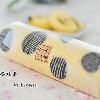 奶牛蛋糕卷【附擀面杖卷蛋糕卷方法】的做法图解35