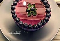 蓝莓慕斯蛋糕(6寸)的做法