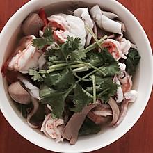 海鲜腰子汤粉